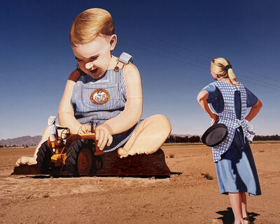 David Graham, 'Jon Cerney's Big Baby, Goodyear, Arizona', 2000