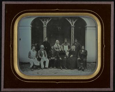 Jean-Gabriel Eynard, 'Ten Servants', 1849