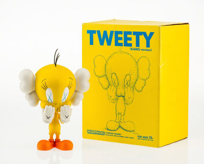 KAWS, 'Tweety (Yellow)', 2010