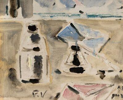 Filippo De Pisis, 'La lettera azzurra', 1952