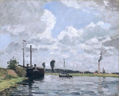 Camille Pissarro, 'Bords de l'Oise, environs de Pontoise', 1872