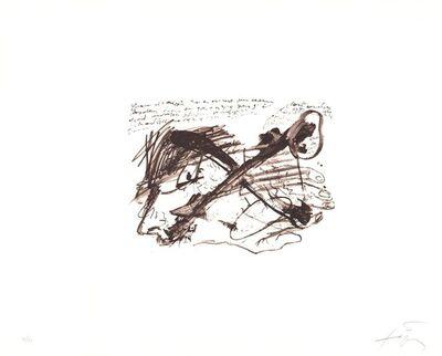 Antoni Tàpies, 'Ecriture', 1970-1980