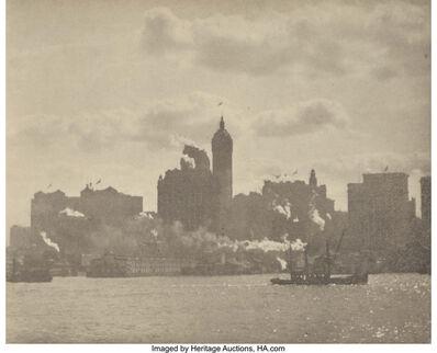Alfred Stieglitz, 'Lower Manhattan, from Camera Work Number 36', 1910