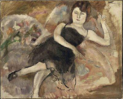 Jules Pascin, 'La Robe du Soir', 1924