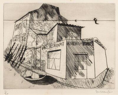 Stanley William Hayter, 'Rue de La Villette, from 'Paysages Urbains' (Black & Moorhead 35)', 1930