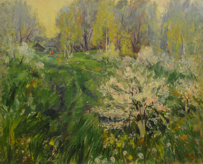 Vladimir Klimentevich Zhuk, 'Garden ', 2000