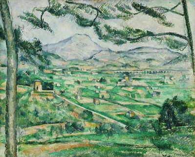 Paul Cézanne, 'Mont Sainte-Victoire', Between 1886 and 1887