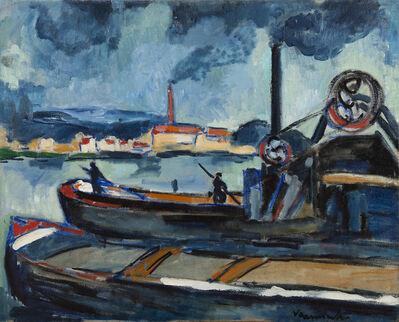 Maurice de Vlaminck, 'La Seine à Chatou', 1907