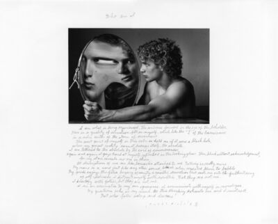 Duane Michals, 'Who Am I?', 1994