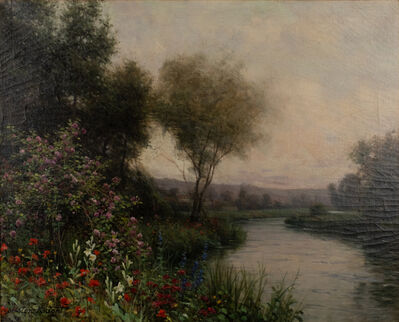 Louis Aston Knight, 'Flowers on the Riverbank', ND