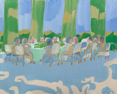 Tang Zhigang, 'Toys Series - Green Shadow 玩偶系列 - 绿影', 2014