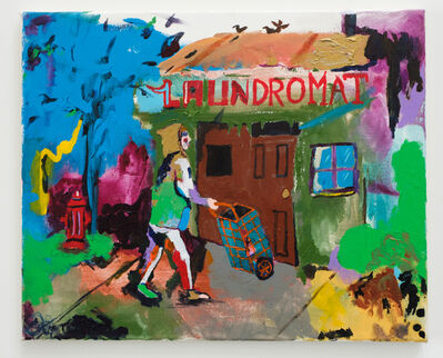 Huey Crowley, 'Me Going to the Laundromat', 2016