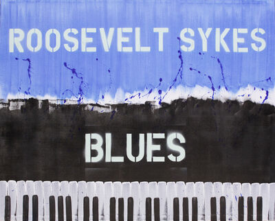 Bernie Taupin, 'Roosevelt Sykes Blues', 2015