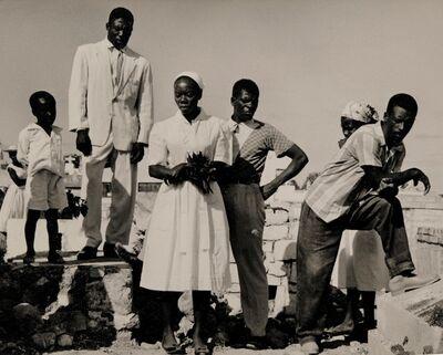Walter Rosenblum, 'Funeral, Haiti', 1958