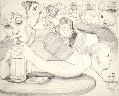 Nicole Eisenman, 'Drinking With Death Kiss', 2012