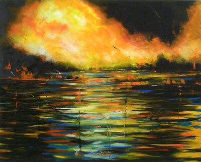 Audrey Anastasi, 'Fire and Water', 2009