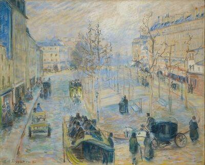 Camille Pissarro, 'Boulevard Rochechouart', 1880
