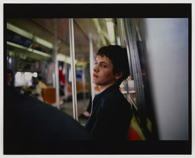 Nan Goldin, 'Simon on the subway, NYC', 1998