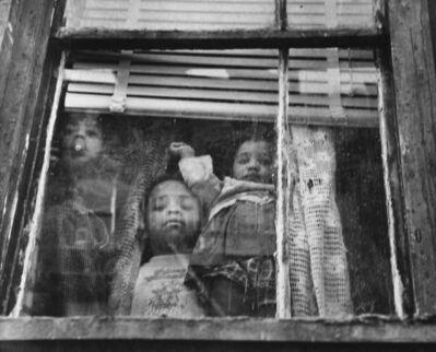 Leon Levinstein, 'Children at window, New York', 1950