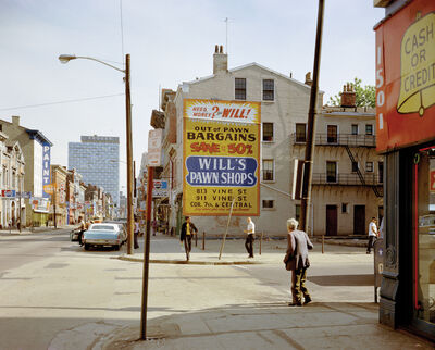 Stephen Shore, 'West 15th and Vine St., Cincinate, Ohio 5/15/1974', 1974