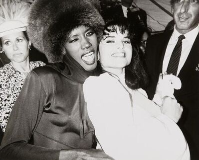 Andy Warhol, 'Grace Jones and Maria Shriver', 1986