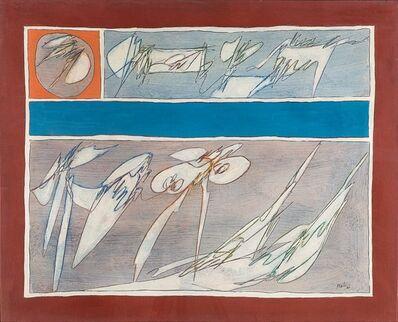 Achille Perilli, 'Il sacro celibato', 1967