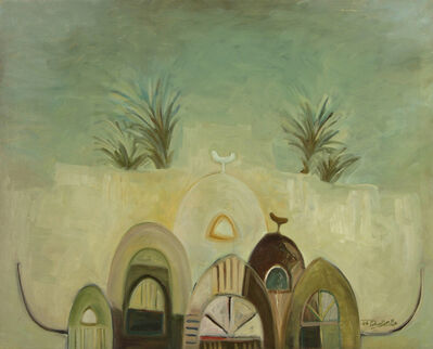 Abdulrahman Al Soliman, 'Beginnings 1', 1986