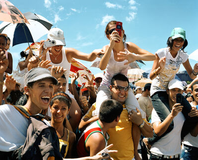 Michael Dweck, 'Peace Without Borders Concert in Revolution Square (Over 1MM people in 98 degree heat gathered to hear music and speeches. Juanes, Miguel Bose, Silvio Rodriguez, Olga Tanon.), Habana, September', 2009