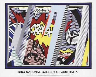 Roy Lichtenstein, 'Reflections on Crash', 1990 (2013)