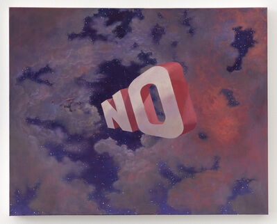 Wayne White, 'NO', 2019