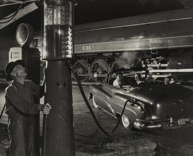 O. Winston Link, 'Sometimes Electricity Fails, Vesuvius, VA.', 1954