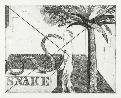 David Hockney, 'Jungle Boy (M.C.A Tokyo 33)', 1964