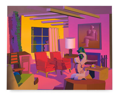 Jonathan Chapline, 'Constructed Interior (Spring)', 2019