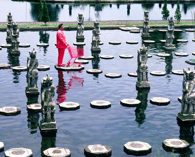 Manit Sriwanichpoom, 'Pink Man in Paradise #7', 2003