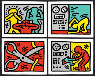 Keith Haring, 'Pop Shop III', 1989