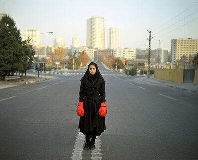 13 photographers from the middle east, 'Newsha Tavakolian- From the series Listen', 2010