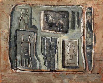 Mario Sironi, 'Composizione', 1950 circa