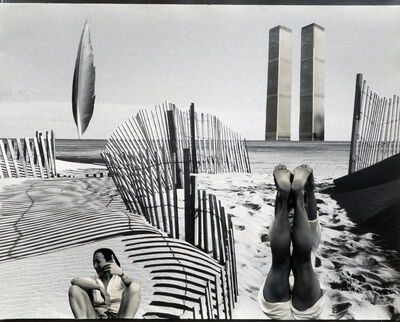 Stella Snead, 'Feather Center Beach', ca. 1970s