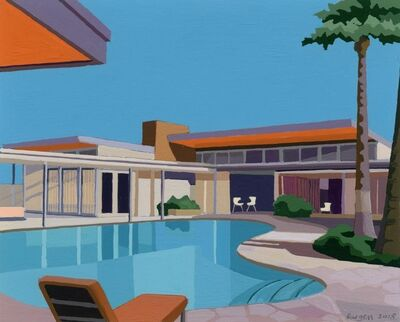 Andy Burgess, 'Sinatra House, Palm Springs', 2018