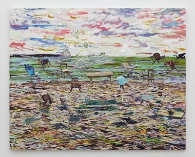 Toru Kuwakubo, 'Lunch on the windy beach', 2014