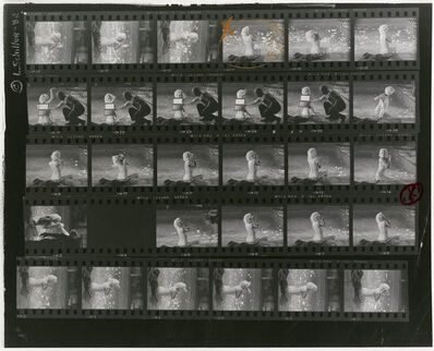 Lawrence Schiller, 'Marilyn Monroe (large): Proof Sheet 14', 1962