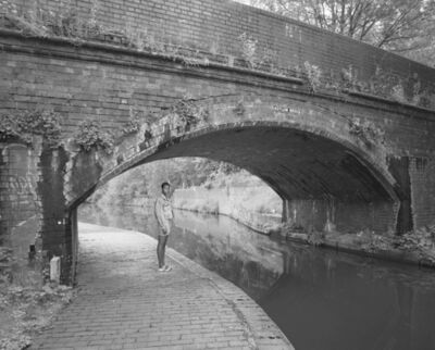 "Edgar Martins, ''A.' by Asylum Bridge, Winson Green (from the series ""What Photography has in Common with an Empty Vase"")', 2018"