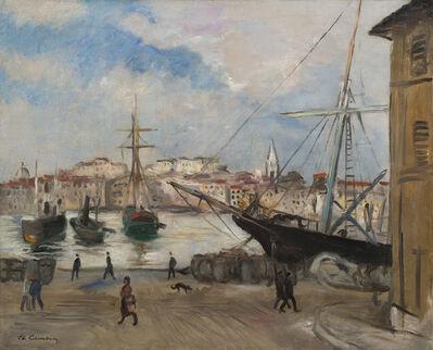 Charles Camoin, 'Marseille, Le Canal de la Douane', 1928