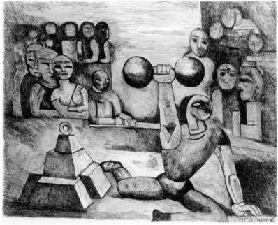 Marcel Gromaire, 'Weight Lifter (L'Homme aux halteres)', 1926