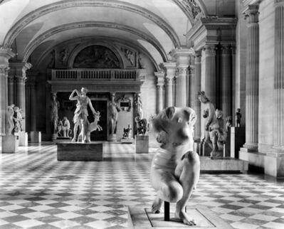 Jean-Christophe BALLOT, 'Le Louvre en métamorphose I, Paris', 2001