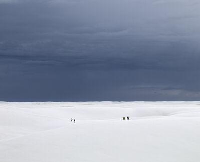 David Burdeny, 'Desert Walk (Group), Lençóis Maranhenses, Brazil', 2014