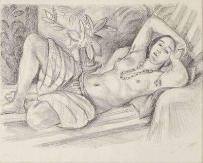 Henri Matisse, 'Odalisque au magnolia', 1923