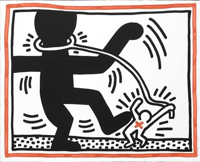Keith Haring, 'Free South Africa, 1985 (#2)', 1985