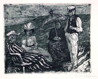 Emil Nolde, 'Conversation', 1906