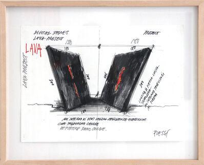 Fabrizio Plessi, 'Lava Project 1', 2005